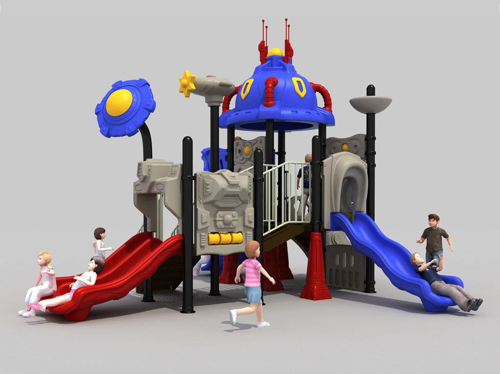儿童室外塑料滑梯