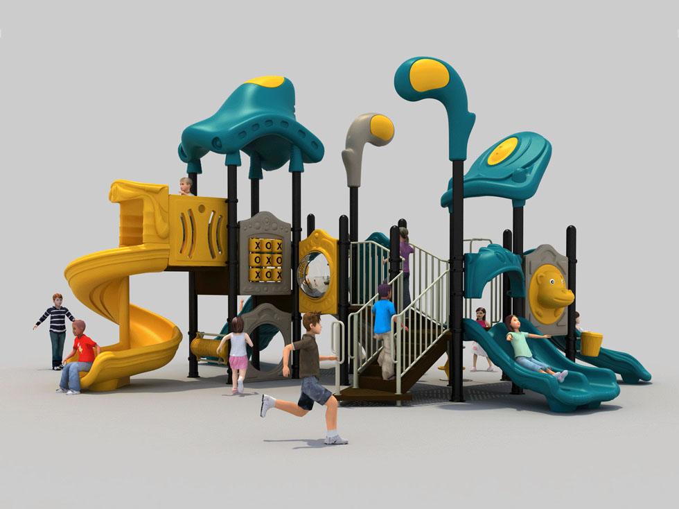 儿童滑梯塑料