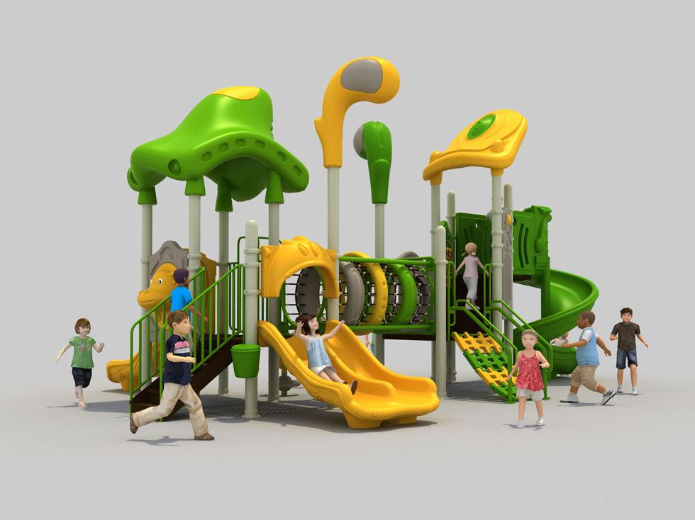 幼儿园滑梯塑料