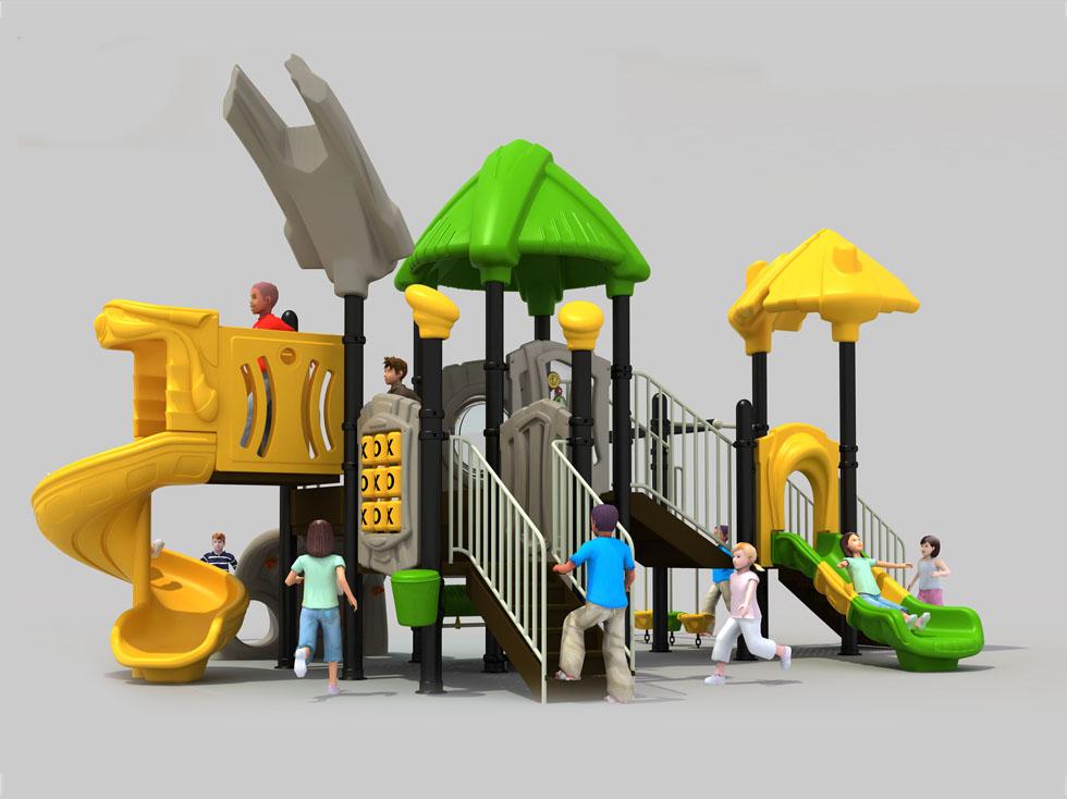 环保塑料滑梯