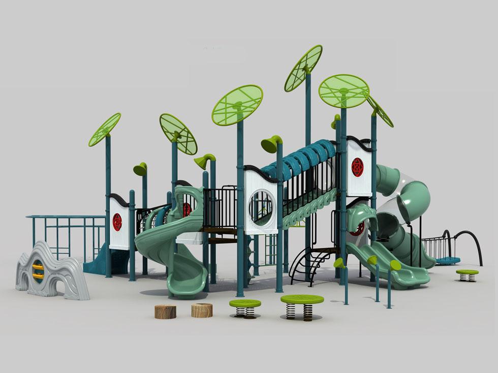 多功能塑料滑梯