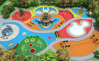 户外多功能儿童游乐园