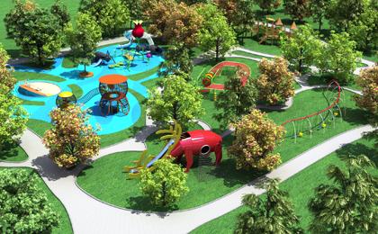 户外儿童游乐场设计