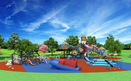 绿野仙踪户外儿童游乐区设计