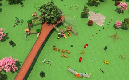 智慧树户外儿童乐园设计