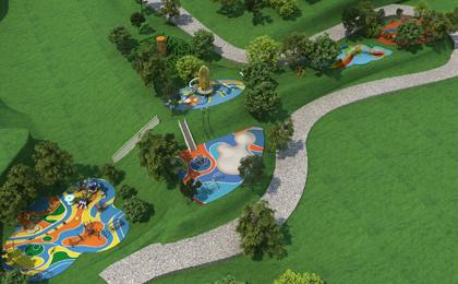 多功能儿童户外乐园设计