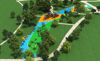 微地形乐园北京户外儿童乐园设计公司