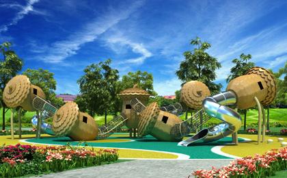 大型儿童室外游乐设施