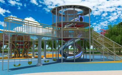 室外儿童游乐园设备