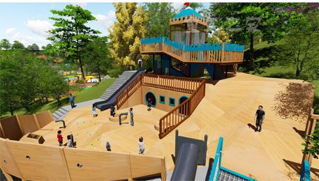 户外大型儿童游乐设施