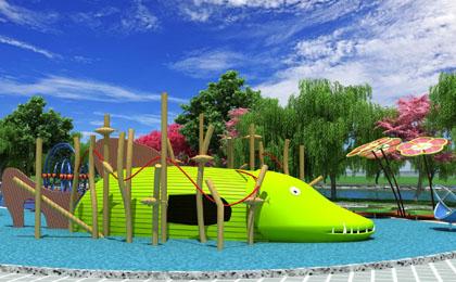 大型户外儿童游乐�设施