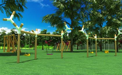 儿童游乐户外设施