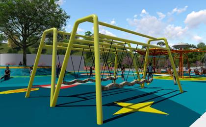 小区户外儿童游乐设施