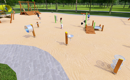 儿童游乐设施户外