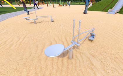 儿童户外小型游乐设施