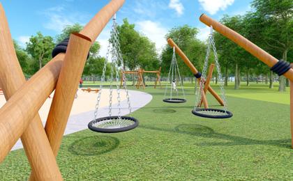 小型户外儿童游乐设施