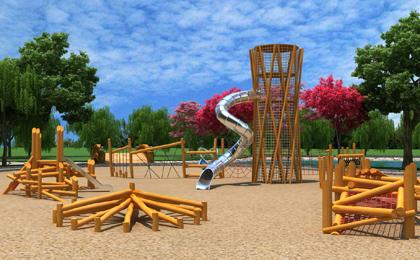 儿童室外小型游乐设施