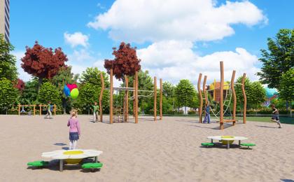 幼儿园室外游乐设施