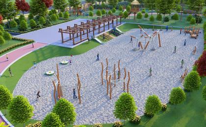 大型儿童户外游乐设施