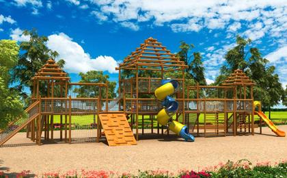 小区室外儿童游乐设施