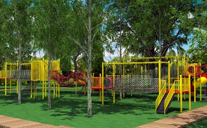 儿童户外游乐设施