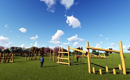 公园无�z动力游乐设备